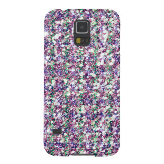 Colorful Trendy Glitter Texture Print GR2 Galaxy S5 Cover