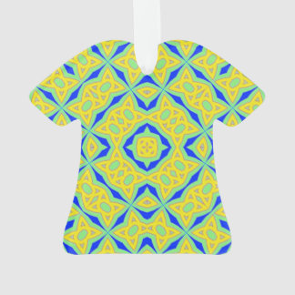 Colorful trendy pattern ornament