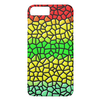 colorful trendy stained glass iPhone 8 plus/7 plus case