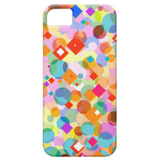 Colorful Triangle and Dot Pattern iPhone 5 Cover