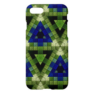Colorful triangle block pattern iPhone 8/7 case