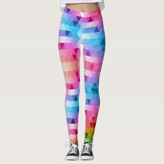 Colorful Triangle Legging
