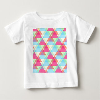 Colorful Triangle pattern Baby T-Shirt