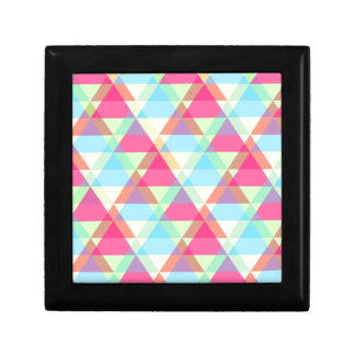 Colorful Triangle pattern Gift Box