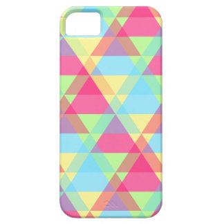 Colorful Triangle pattern iPhone 5 Case