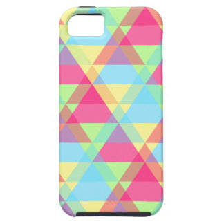 Colorful Triangle pattern iPhone 5 Covers