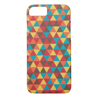 Colorful Triangle Pattern iPhone 7 Case
