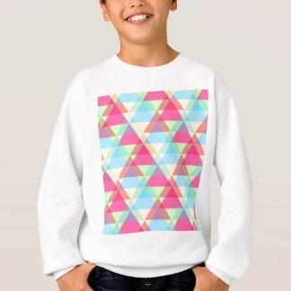 Colorful Triangle pattern Sweatshirt