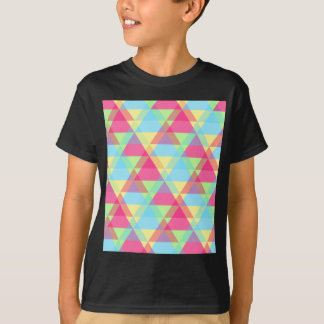 Colorful Triangle pattern T-Shirt