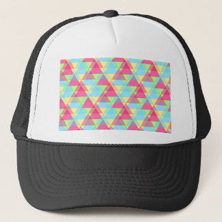 Colorful Triangle pattern Trucker Hat