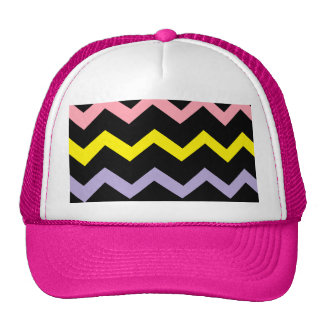 Colorful Triangle Waves Trucker Hat
