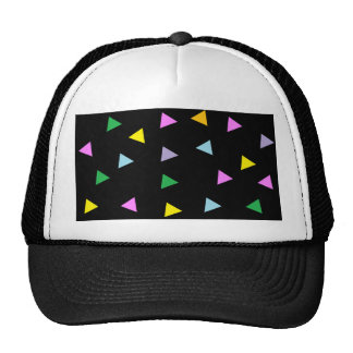 Colorful Triangles Mesh Hats