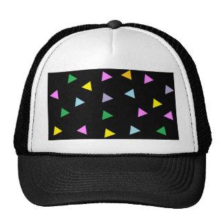 Colorful Triangles Cap