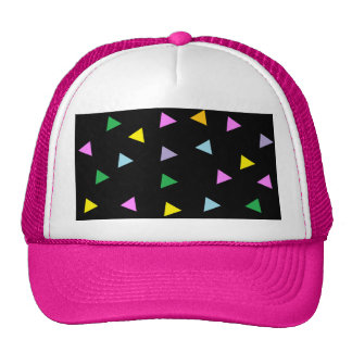 Colorful Triangles Cap