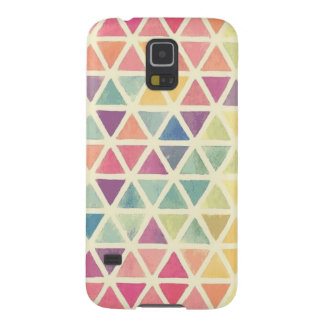 colorful triangles galaxy s5 covers