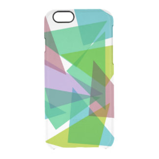 Colorful triangles iPhone 6 plus case