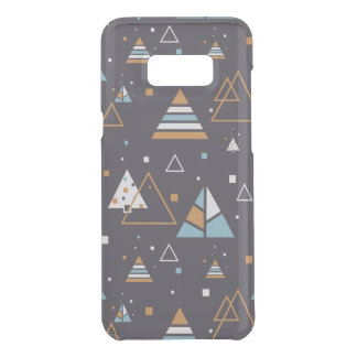 Colorful Triangles Modern Pattern 3 Uncommon Samsung Galaxy S8 Plus Case