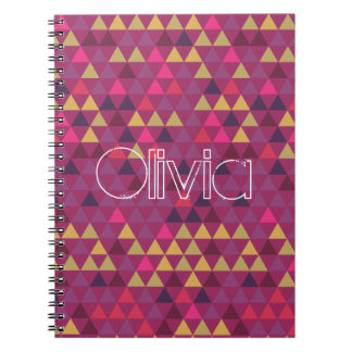 Colorful Triangles Notebook
