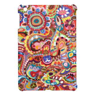 Colorful Tribal Abstract Art iPad Mini Case