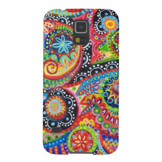 Colorful Tribal Art Galaxy S5 Cases