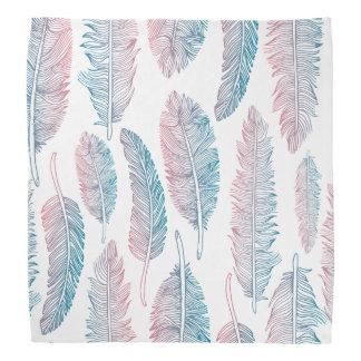 Colorful Tribal Feather Pattern | Bandana