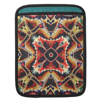 Colorful Tribal Geometric Abstract iPad Sleeve