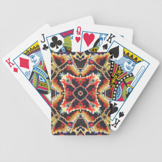 Colorful Tribal Geometric Abstract Poker Deck