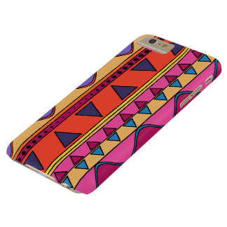 Colorful tribal geometric doodle phone case