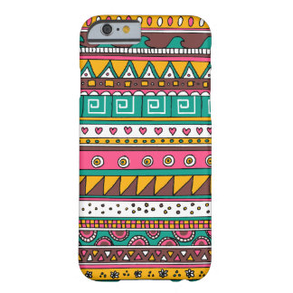 Colorful Tribal pattern Barely There iPhone 6 Case