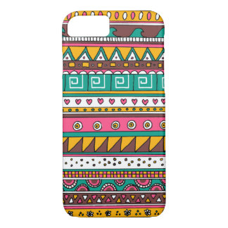 Colorful Tribal pattern iPhone 8/7 Case