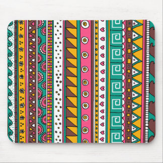 Colorful Tribal pattern Mouse Pad