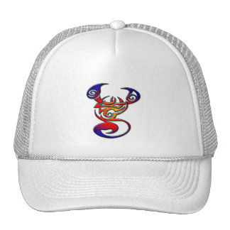 COLORFUL TRIBAL STYLE SCORPION CAP