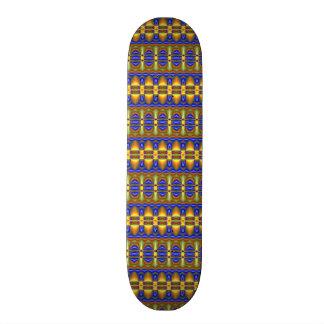 Colorful tribal unique pattern 21.3 cm mini skateboard deck
