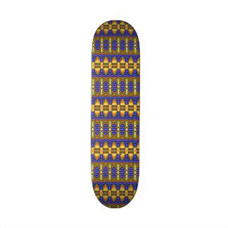 Colorful tribal unique pattern skateboard deck
