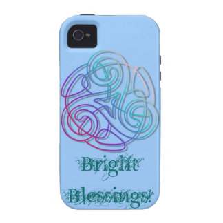 Colorful triskele image vibe iPhone 4 case