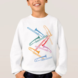 Colorful Trombones Sweatshirt