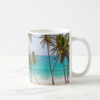 Colorful Tropical Beach Coffee Mug