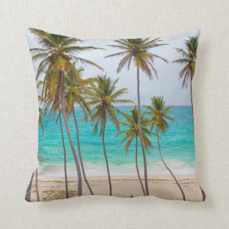 Colorful Tropical Beach Cushion