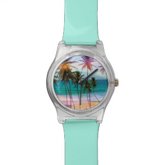 Colorful Tropical Beach Watch