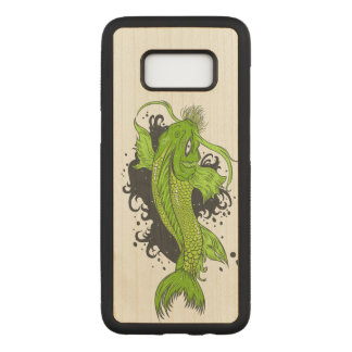 Colorful Tropical Fish Carved Samsung Galaxy S8 Case