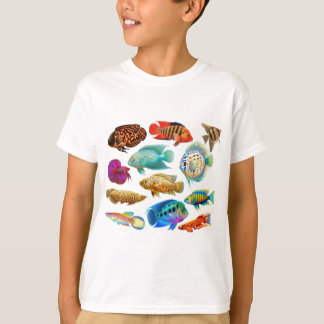 Colorful Tropical Fish T-Shirt