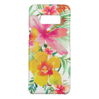 Colorful Tropical Flowers Bouquet Case-Mate Samsung Galaxy S8 Case