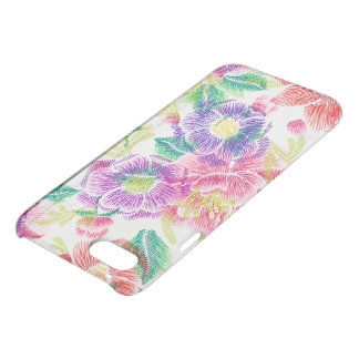 Colorful Tropical Flowers Pattern GR3 iPhone 7 Case
