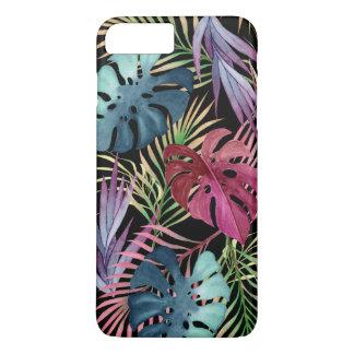 Colorful Tropical Foliage Botanical Pattern iPhone 8 Plus/7 Plus Case