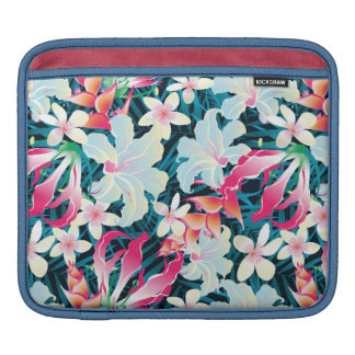 Colorful Tropical Pattern iPad Sleeve