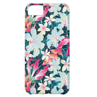 Colorful Tropical Pattern iPhone 5C Case