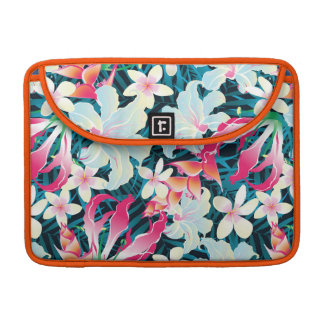Colorful Tropical Pattern MacBook Pro Sleeve