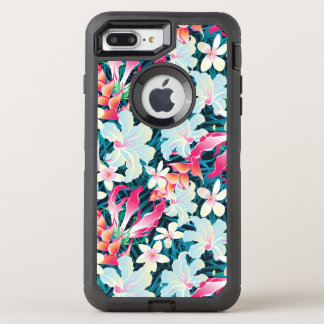 Colorful Tropical Pattern OtterBox Defender iPhone 8 Plus/7 Plus Case