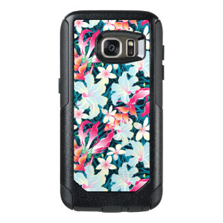 Colorful Tropical Pattern OtterBox Samsung Galaxy S7 Case