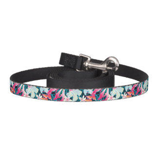 Colorful Tropical Pattern Pet Lead